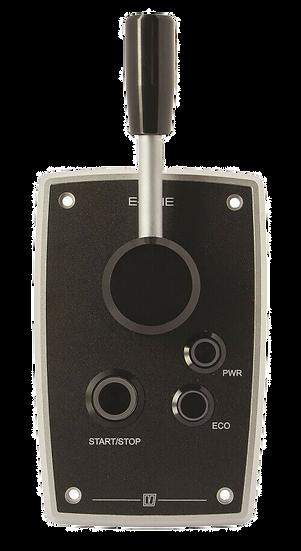 Throttle lever for VETUS E-line