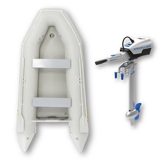 3.3M Dinghy with electric outboard Spirit 1 Plus
