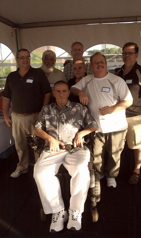 Rick and Friends at Olson ALS Golf Outin