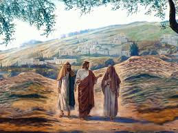 Cleopas and Another Meet Jesus on the Road to Emmaus-Luke 24:13-35