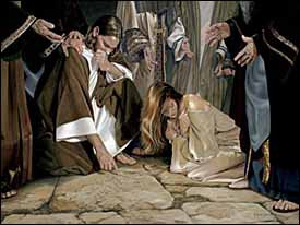 Woman Caught in Adultery-  based on John 8:1-12