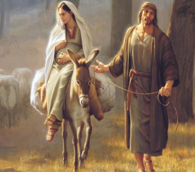 The Night Mary and Joseph met Jesus- Luke 1:26-38, 2:1-21