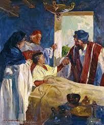 The Centurion's Faith in Jesus-Luke 7:1-10, Matthew 8:5-13