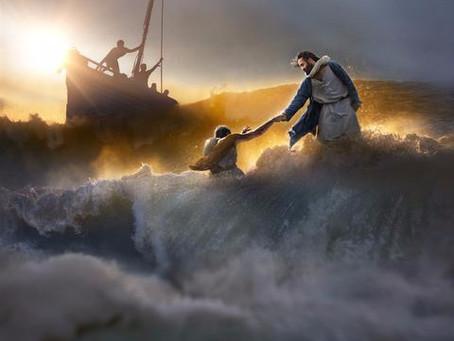 Peter Walks on Water With Jesus -Matthew 14:22-33