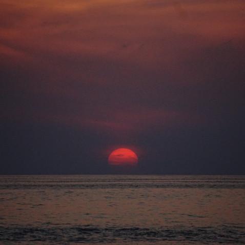 Late Sunset, Troncones Beach