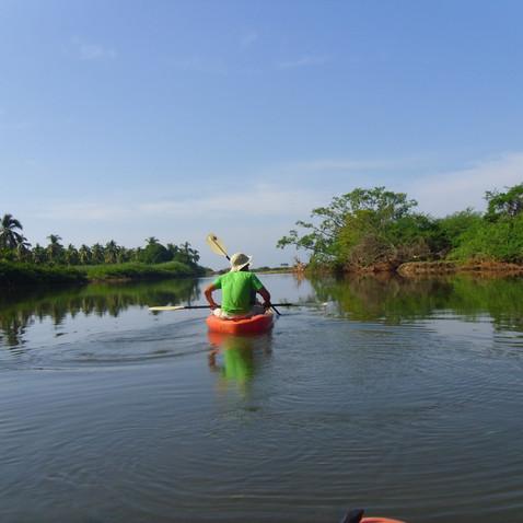 Kayaking, Boca Lagoon