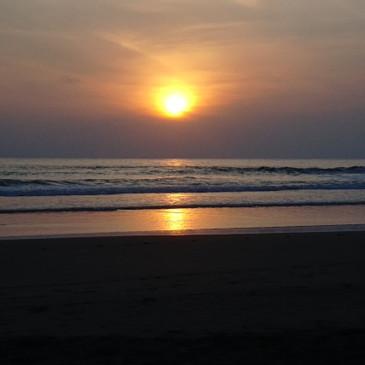Sunset, Troncones Beach