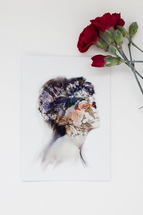 In Bloom- greeting card