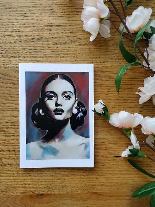 Lily, Greeting card (regular)