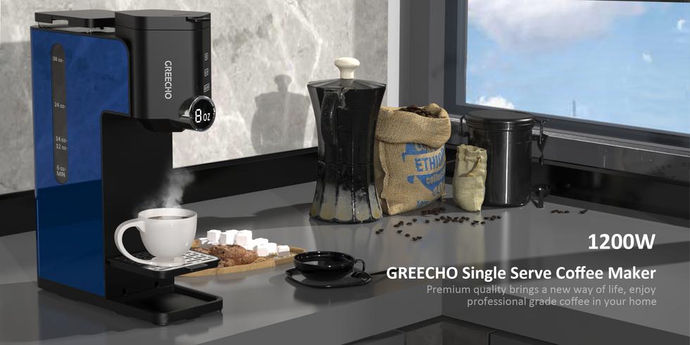GREECHO Single Serve Coffee Maker