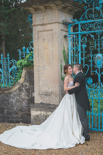 wedding-couple-blue-fence.jpg
