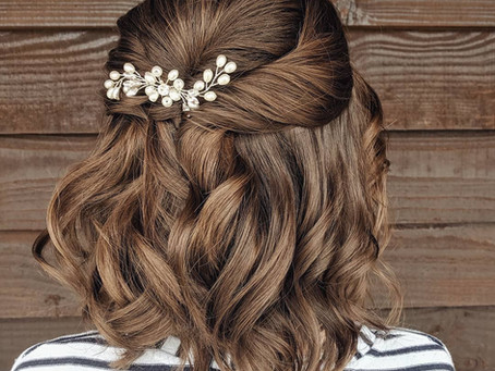 7 Bridal Half Up Half Down Hairstyle Ideas to Wear on Your Wedding Day