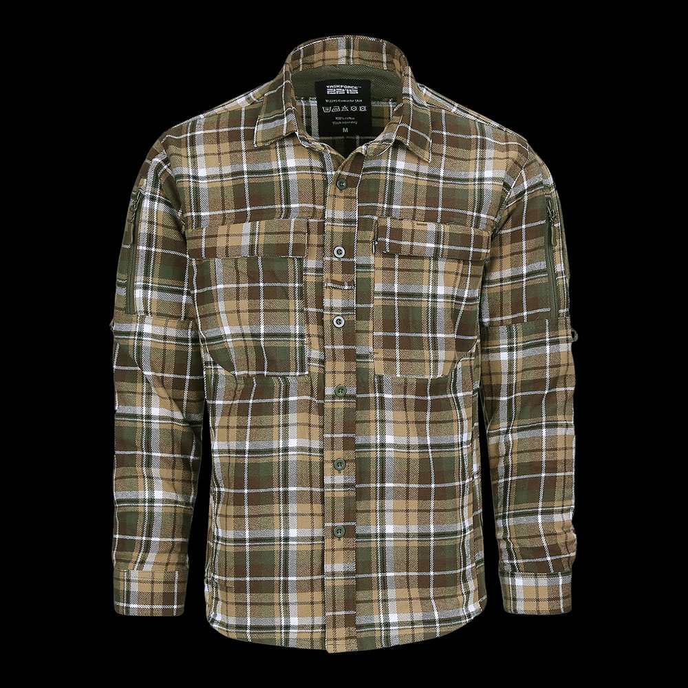 TF-2215 Flanel Contractor Shirt