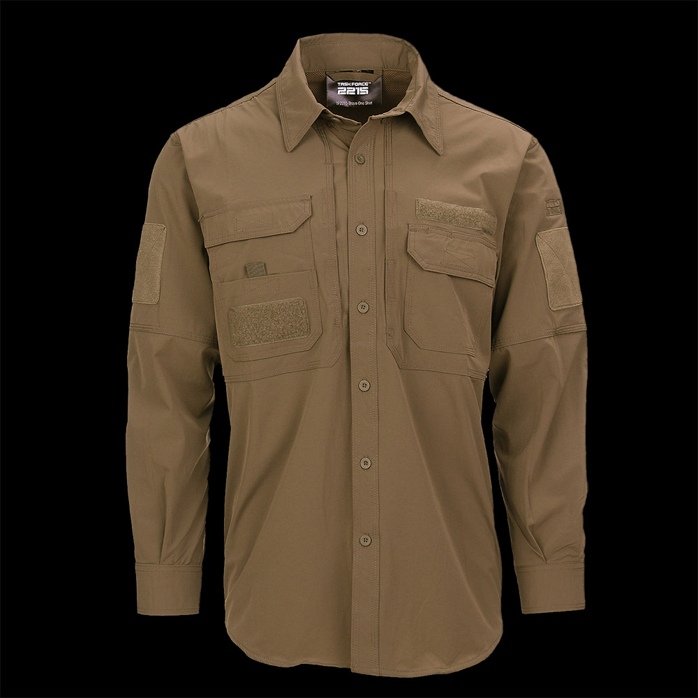 TF-2215 Bravo One Shirt Coyote