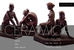 2017 . ATELIER LIVRE  . atelier zema . BH . Cerâmica . escultura, utilitários, moldes, etc.