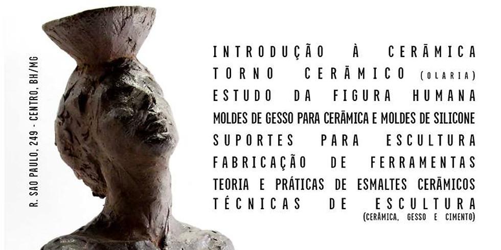 Escultura, cerâmica e artes