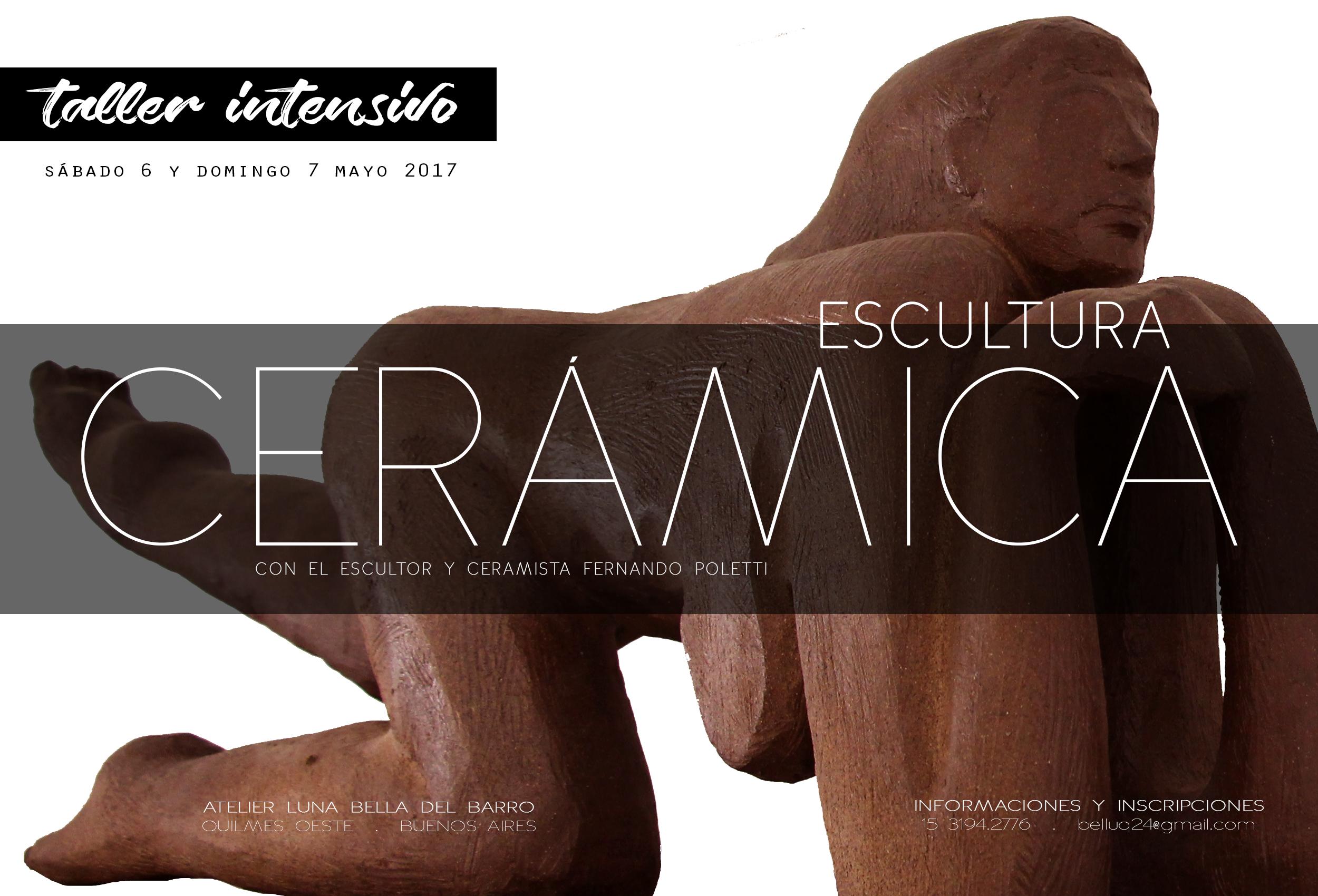 2017 . CURSO INTENSIVO . escultura cerâmica . BUENOS AIRES