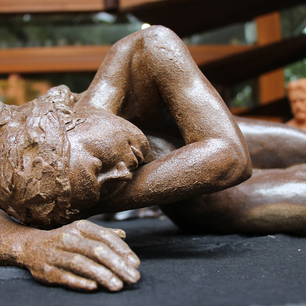 escultura cerâmica . FERNANDO POLETTI