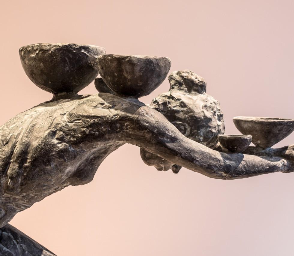 escultura . FERNANDO POLETTI . exposição CORPOS EM TRÂNSITO