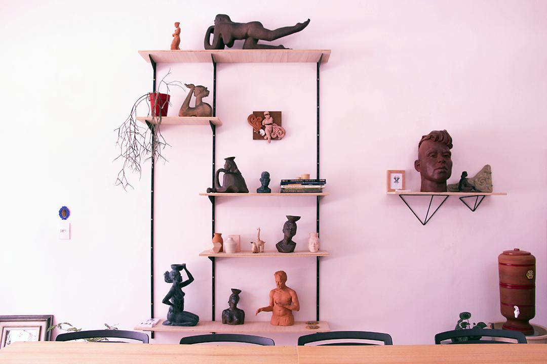 atelier . escultor FERNANDO POLETTI