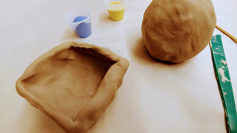 At-home Clay Project Kit