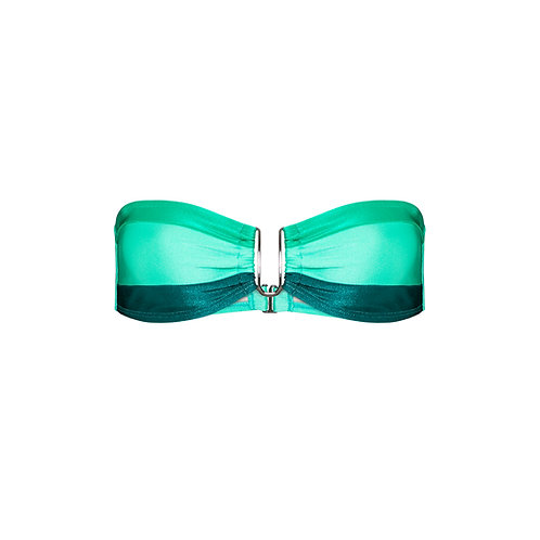 Top | Malibu | Tricolor Verde