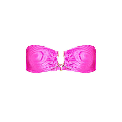 Top | Malibu | Pink Canelado