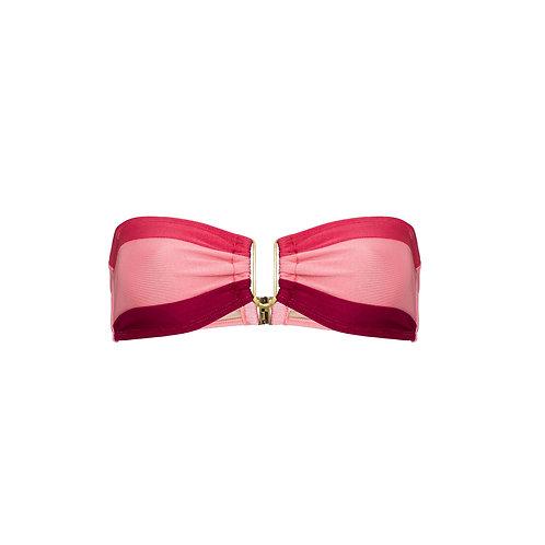 Top | Malibu | Tricolor Rosa