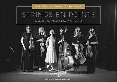 TS Strings en Pointe poster - Landscape[