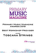 Toscana Strings PMM award