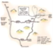 Map of Tighza Region by Biddy Walton