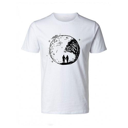 White Philia T-Shirt (Capacity For Love logo)