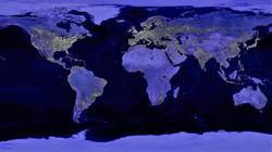 Earth Night Lights