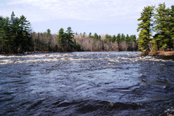 East Branch Of The Penobscot River In Grindstone Twp.
