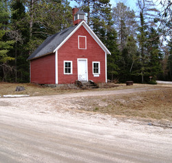 One Room Schoolhouse In Grand Falls