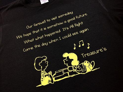 Treasure's歌詞入りTシャツ