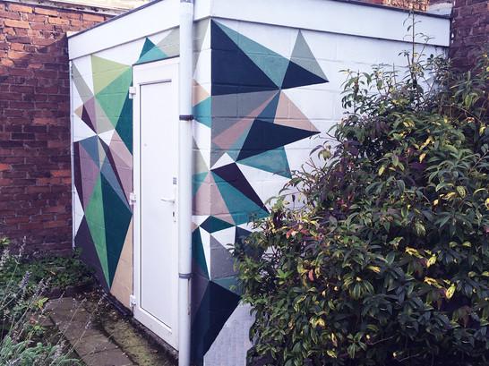 Fresque murale (garage)