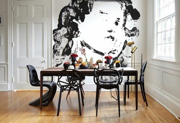 "Fresque murale ""Romance"""
