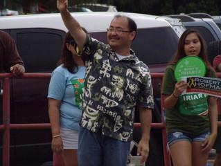 RE-ELECT Rudy D. Iriarte for Sinajana Vice Mayor!                                          August 27