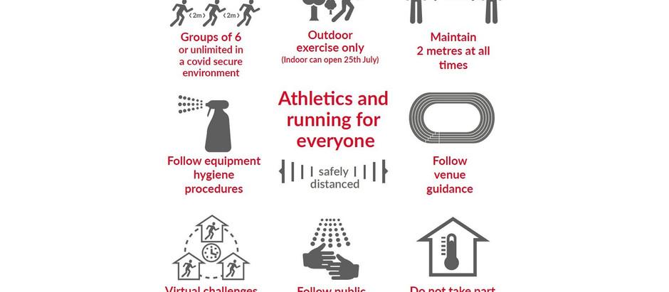 England Athletics Update - Running Safely