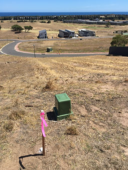Boundary Survey Subdivision Peg Pegging