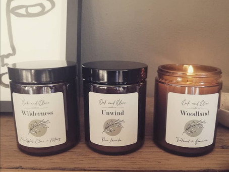 Oak and Olive Candles