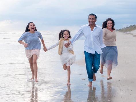 Goonetilleke Family on Hilton Head Island