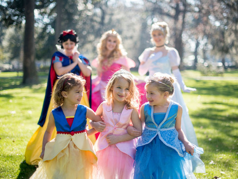 Sunday in the Park with Princesses