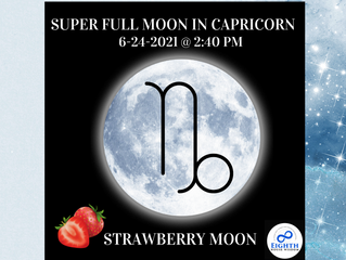 The Capricorn Super Full Moon♑️: Ambition Meets Inner Peace📿