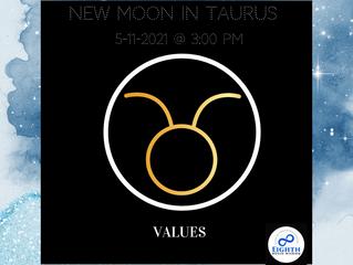 Values, Pleasure Seeking & The Taurus New Moon♉️🌑
