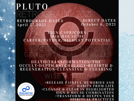 Pluto Retrograde: How To Transform & Transmute With The Atomic⚛ Planet