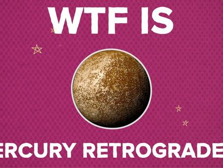 Mercury Retrograde - Learning How To Thrive✨