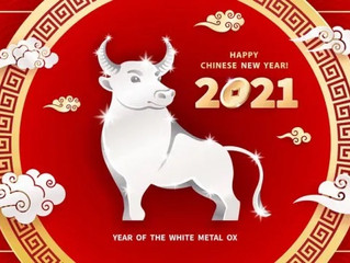 Happy Lunar New Year 2021:East Meets West Astrology Mash Up