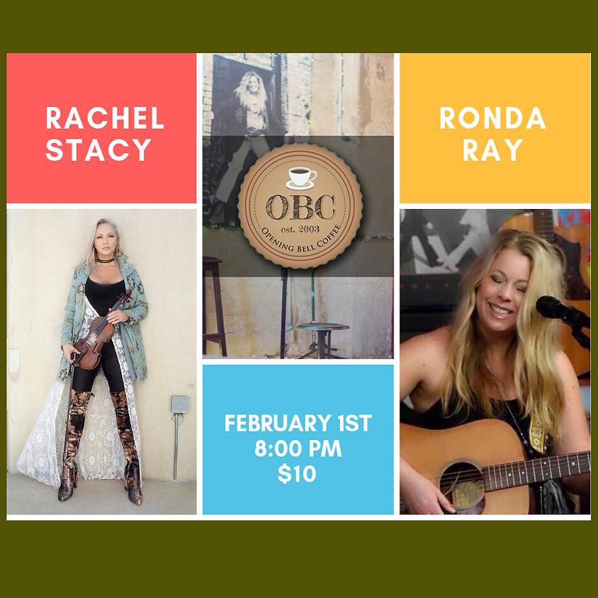 Rachel Stacy & Ronda Ray    8:00 pm